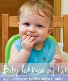 Everything you need to know to get started with baby-led weaning: what it is, why you'll love it, and how it works!