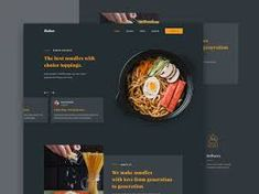 restaurant web ui design - Google Penelusuran Restaurant Website Design, Noodle Restaurant, Web Ui Design, Noodles, Product Design, Digital, Macaroni, Noodle, Merchandise Designs
