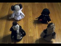 Star Wars Fan Art 3D Crochet