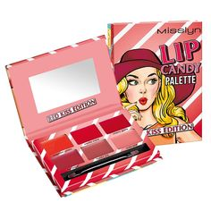 Misslyn LIP CANDY PALETTE #1 RED KISS EDITION