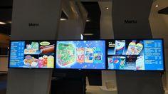 Sony Digital Menu Boards @ CineEurope 2012