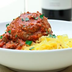 Is it possible to eat good ol' American comfort food on The 4 Hour Body Diet, AKA The Slow Carb Diet? These amazing Slow Carb Spaghetti and Meatballs are p