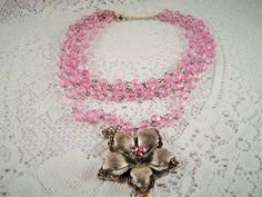 SALE 15% OFF: Vintage ICING  Teen's Pink by CarolsVintageJewelry