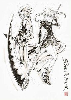 Epic Soul Eater art!!