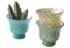 Mercury Glass Votives, Asst. of 3 on OneKingsLane.com