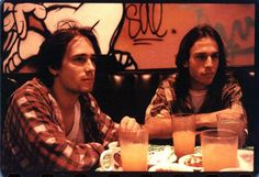 Jeff Buckley and Matt Johnson