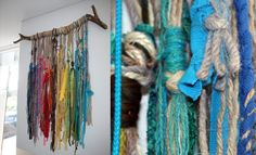 The colourful language of the inca's recreated by Anne van den Heuvel. With loads of diffrent techniques and texile Anne creates art, all her art is also good for the acoustic in a room! For more information you can check her website - www.annevandenheuvel.nl