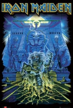 iron maiden poster art | IRON MAIDEN - tomb posters | art prints