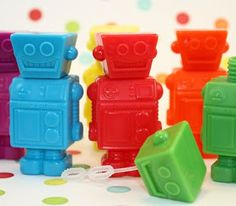 Quaintly Garcia: TPPM: Robot Party Favors