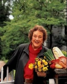 "Amazing woman ~~ ""Julia Child, Beautiful, this is how we remember her.  :)"""