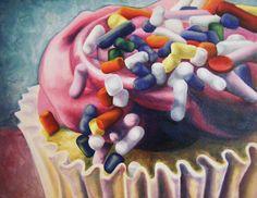 Becky Hernandez (BFA Painting) paints contemporary still life.