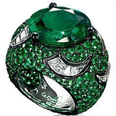 de Grisogono ~ Emerald Ring