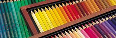 Wooden Boxes of Coloured Pencils http://www.jacksonsart.com/blog/2014/03/21/make-colourful-mothers-day/ #colour #colourful #pencils #art #artsupplies #pencil