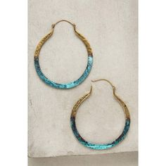 Lena Bernard Dipped Mercury Hoops