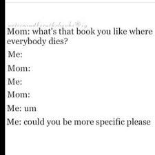 The Hunger Games, Divergent, The Maze Runner, The 100 (yes theres books too) and The Fault In Our Stars ;-;