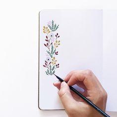Handmade Journals Flowers by Renee Ryan