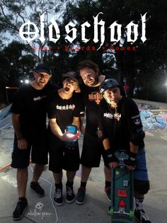 Oldschool gathering of the committed... this crew has history. From the left: Lord Donska - first grom to throwdown handplants in the West Hobart Bowl Tasmania. Myself - first 100% boarder owned & operated specialist store in Tasmania. Matty - first mega backyard ramp with a spine in Tasmania, proudly sessioned by Mark Gonzales no less. Mike - the full Melbourne skate import who's bullshit energy first sparked Church of Skatin and Sharyn for again capturing all these moments… Skateboard Ramps, Rain Shower, Tasmania, Bullshit, Skateboarding, Old School, Melbourne, Lord, Backyard