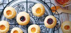 Simple Jam Biscuits