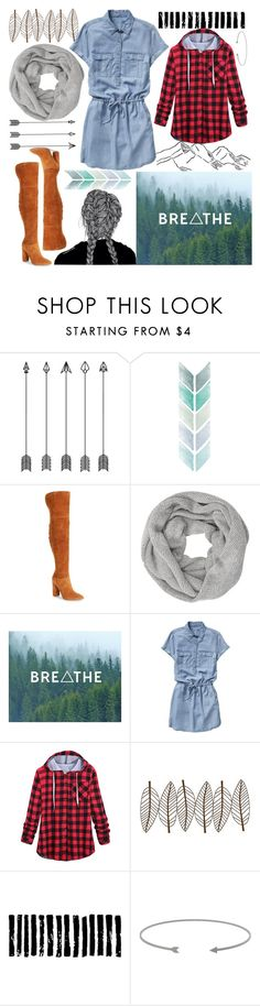 """""""I love the outdoors"""" by ciaran-colleen ❤ liked on Polyvore featuring Marc Fisher LTD, John Lewis, Gap, New View and Camp"""