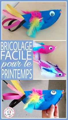 Classroom tips & tricks, resources and teaching ideas for the primary French classroom - immersion or French first-language Kindergarten Art Projects, Kindergarten Classroom, Art Classroom, French Teaching Resources, Teaching French, Teaching Ideas, Spring Art Projects, Projects For Kids, Primary Activities