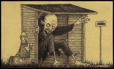 Amazing artwork of John Kenn Mortensen - Imgur