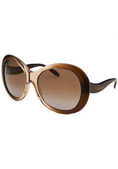 3bbf2a90fd4 Roberto Cavalli Sunglasses RC 734S Full Moon Frame Crystal Brown Fade Lens  Brown Gradient