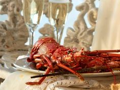 Dig into some fresh steamed lobster at Anguilla's Anacaona Boutique Hotel. Bon appétit!