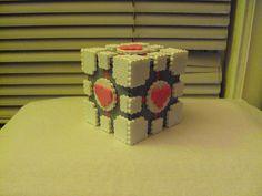 Companion Cube 1 by Pyroshi, via Flickr