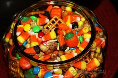 Halloween trail mix!!