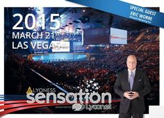 Eric Worre!!! to speak at Sensation 2015 in Las Vegas