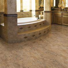 Trafficmaster Allure 12 In X 36 Corsica Dark Resilient Vinyl Tile Flooring