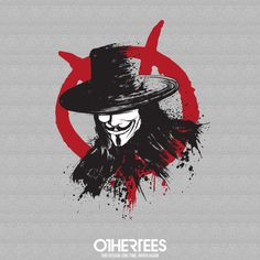 """Revolution is Coming"" by Dr.Monekers T-shirts, Tank Tops, Sweatshirts and Hoodies are on sale until 4th December at www.OtherTees.com Pin it for a chance at a FREE TEE #vforvendetta #v #revolution #othertees #vendetta"