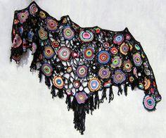 The Starry Night Crochet Shawl