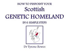 How to use your DNA to pinpoint your Scottish origin. Ancestry Dna, Genealogy Research, Family Genealogy, Dna Research, Family Research, Family Roots, All Family, Family Trees, Family History Book