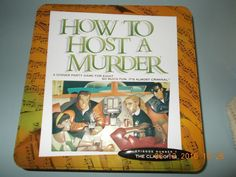 How To Host A Murder Dinner Party Game & Tin Episode 7 Class of 54 Tin Opened #DecipherInc