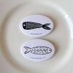 yamyam kikaku 魚缶バッチ                                                                                                                                                                                 もっと見る