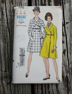 Vogue Special Design 7195 1960s 60s Mod Pea by EleanorMeriwether
