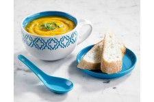 Davis & Waddell Marrakesh Soup Mug Set Blue