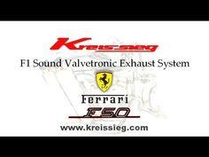 Ferrari F50 F-1Exhaust muffler sound 2014'New video by   Kreissieg