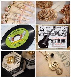 The Right Note – Musical Wedding Decor