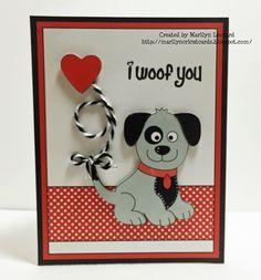 ~ Marilyn's Cricut Cards ~: Puppy Love