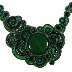 Emerald naszyjnik