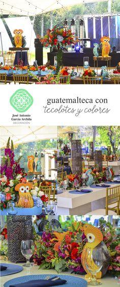 Tecolotes de Colores #GarciaArchilaDecoracion #Guatemala