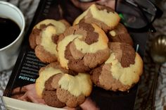 kruche ciasteczka Polish Recipes, Cannoli, Cakes And More, Cookie Bars, Truffles, Muffin, Food And Drink, Sweets, Cookies