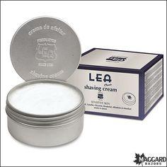 LEA Classic Shaving Cream in Metal Tin – 100g (3.5oz) | Maggard Razors - Straight Razor Restoration, Custom Scales and Wet Shaving Products