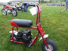 """OldMotoDude: 1962 Minibike on display at 2016 """"The Meet"""" -- Tac..."""