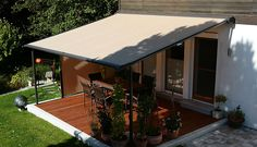 Retractable Pergola Awning Best Quality Design Black Stained Finish Tough Steel Posts Crossbeams Rafters Roof Cover Feature Decoration