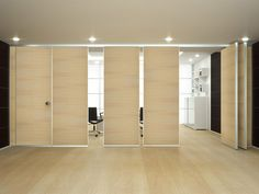 ROLLING WALL Operable wall by Arcadia Componibili - Gruppo Penta