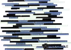 Shop glass mosaic tiles for backsplashes, bathrooms and accent walls.  Free Shipping!
