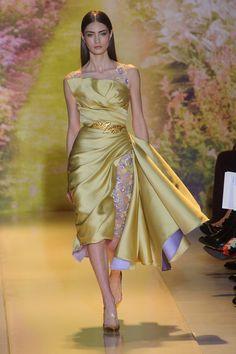 zuhair murad gowns 2014 | Zebra in the Garden at Zuhair Murad's Couture Show